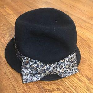scala pronto womens hat black fedora style AA141